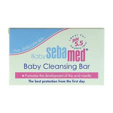 Buy <b>Sebamed Cleansing Bar</b> Soap for <b>Baby</b> 150g Online - Shop ...