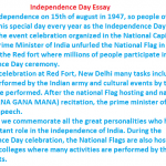 essay on independence day in english for class essay for you  essay on independence day in english for class image