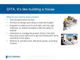 DITA Quick Start Webinar Series  Building a Project Plan