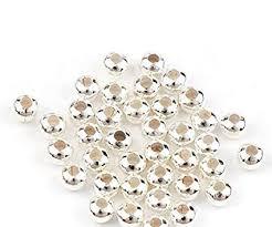 Metal Spacer <b>Beads</b> - <b>Plated</b> - 500-4mm: Amazon.co.uk: DIY & Tools