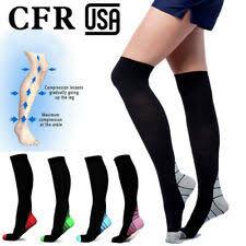 7pair Xmas <b>Printing</b> Unsex Compression Socks Running Sports Calf ...