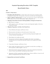 doc 417540 sop template word 9 standard operating procedure sop template doc417540 standard operating procedures sop template word