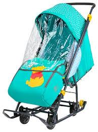 <b>Санки</b>-<b>коляска Nika Disney</b> baby 1 (DB1) — купить по выгодной ...