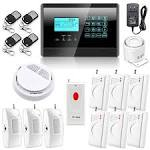 Wireless monitored home security system