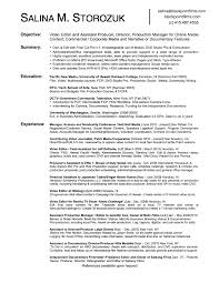 film and video editor resume sample   sample resumesfilm and video editor resume sample