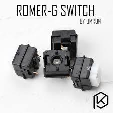 <b>Logitech</b> Romer G RGB switch ormon <b>tactile switch</b> low profile ...