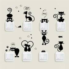 Small <b>DIY</b> Wall Stickers <b>Funny Cute Dog</b> & Cat | Crafts in 2019 | <b>Diy</b> ...