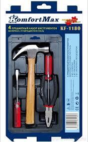 <b>Набор инструментов KomfortMax</b> 4 предмета <b>KF</b>-<b>1180</b> купить по ...