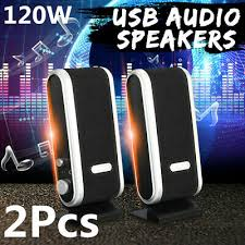<b>120W USB Power</b> Desktop Computer Notebook Audio Speaker ...