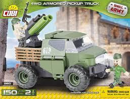 <b>Конструктор COBI Армейский</b> пикап Armored Pickup Truck 4WD