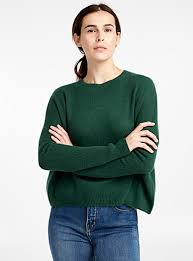 Pure cashmere <b>loose sweater</b> | Contemporaine | Shop <b>Women's</b> ...