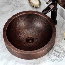 vintage <b>handmade</b> basin fashion rustic <b>Copper classical</b> full bronze ...