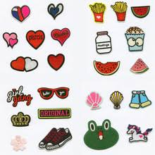 <b>DOUBLEHEE</b> Heart Food Fashion Women DIY Patchwork Patch ...