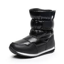 <b>2018 New</b> Winter Children Shoes PU Leather Waterproof Warm ...