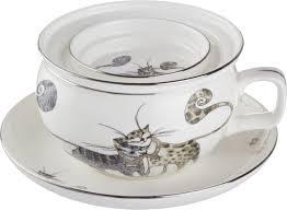 """<b>Набор чайный Lefard</b> """"<b>Котики</b>"""", 2 предмета. HYT0285M264"""