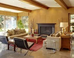Wooden Living Room Furniture 10 Mid Century Modern Living Rooms Best Midcentury Decor