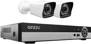 Купить <b>Комплект видеонаблюдения GINZZU HK-425D</b> в интернет ...