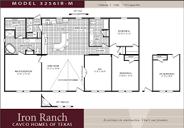 Cavco Homes Double wides Texas Manufactured HomesVIEW LARGER FLOOR PLAN