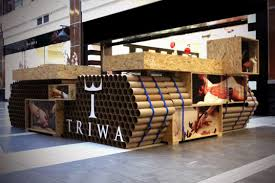 Tank-Shaped TRIWA Pop-Up Store in Poland is Made From <b>900</b> ...