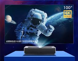 Xiaomi <b>Fengmi</b> 4K Max <b>Laser Projector</b> with up to 4500 ANSI Lumen ...