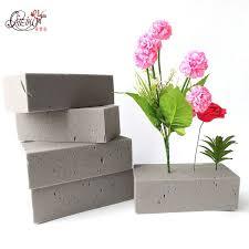 <b>1 PCS Artificial</b> Flower floral foam Can't Absorb Flower mud Handle ...
