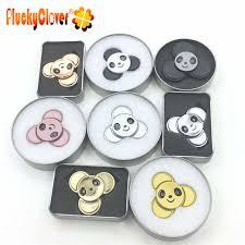 Интернет-магазин 1 шт. Милая металлическая панда <b>Спиннер</b> ...