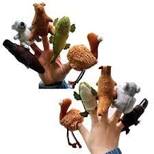 EKIMI 5pcs Different Cartoon Animal Finger Puppets ... - Amazon.com