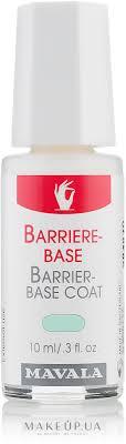<b>Защитное</b> покрытие для слабых и хрупких ногтей - <b>Mavala</b> Barrier ...