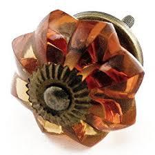 old amber glass cabinet knobs drawer pulls handles set6pc k85 old cabinet hardware gt cabinet pulls gt