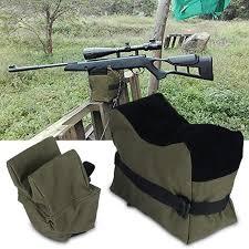 Sonew Unfilled <b>Front & Rear</b> Shooters Gun Rest <b>Sand Bags</b> ...
