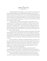 autobiography college essay  essay example college sample autobiography essays examples