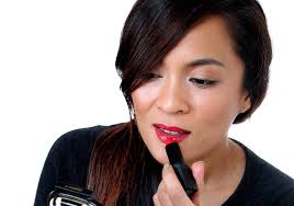 <b>Deborah Lippmann's</b> Sheer Lipstick in <b>She Bangs</b>