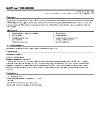 direct sales representative resume example  charter communications    xxxx x  outside sales