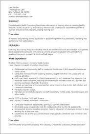 resume templates health promotion coordinator coordinator resume event coordinator resume sample