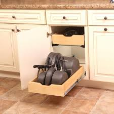 soft close drawers box: real solutions for real life  in h x  in w x  in d soft close wood drawer box pull out cabinet organizer wmub   r asp the home depot