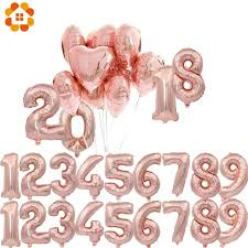 "Universe of goods - Buy ""1PC 3 Sizes 163240 <b>Rose Gold Number</b> ..."