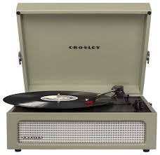 <b>Виниловый проигрыватель Crosley Voyager</b> CR8017A — купить ...