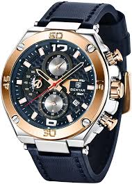 BENYAR Men's Watches Fashion Quartz ... - Amazon.com