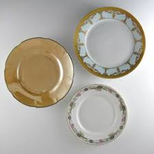 plates vintage mismatched kitchen wall