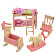 brand simulation furniture toys baby kids wooden brand baby wooden doll house