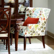 Dining Room Chairs With Casters And Arms Bedroom Agreeable Upholstered Dining Chairs Leather Room Best
