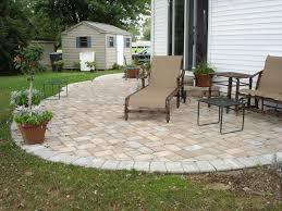 patio adding pavers decorate