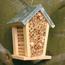 ideas about Bee House on Pinterest   Insect Hotel  Bug Hotel    Mason bee house  Super for the garden  One pair of mason bees can pollinate