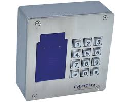 CyberData <b>RFID</b>/<b>Keypad</b> Secure <b>Access Control</b> Endpoint (011426)