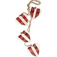 <b>Гирлянда подвесная EnjoyMe Christmas</b> hearts, 4 шт. | www.gt-a.ru