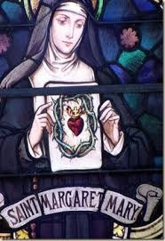 St. Margaret Mary stained glass window