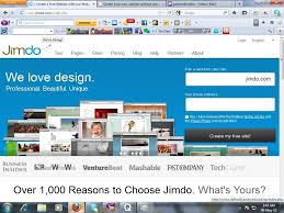 create your own website out any cost website out cost jimdo com is one of them this site is very good and easy to create a website for that i used jimdo com to create my website