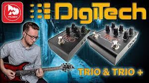 <b>DIGITECH TRIO</b> и <b>DIGITECH TRIO</b> + (со встроенным лупером ...