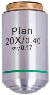 <b>Объектив планахроматический Levenhuk MED</b> 1000 20x/0,4 ...