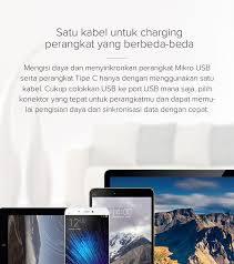 [Xiaomi <b>Mi 2-in-1 USB</b> Cable (Micro USB to Type C) 100cm]Info ...